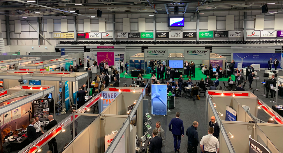 Sofia at Offshore Wind North East 2019