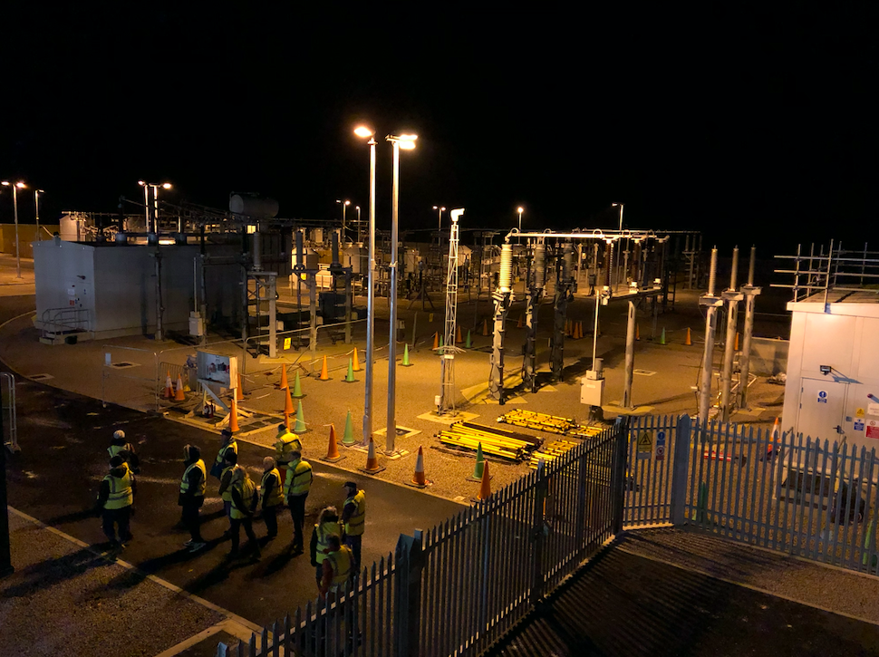 Residents tour of Galloper substation