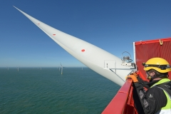 View from the top of Galloper turbine