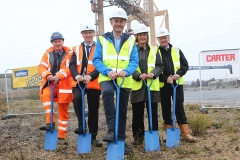 Ground breaking O&M base