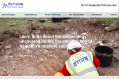 Rampion website home page