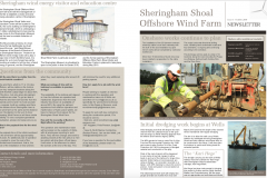 Sheringham Shoal Community Newsletter produced throughout development and construction by PRsue