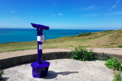 Telescopes funded by Rampion at locations across the south coast