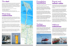 Sheringham Shoal factsheet: factsheets were a cornerstone of the communications throughout development and  construction.