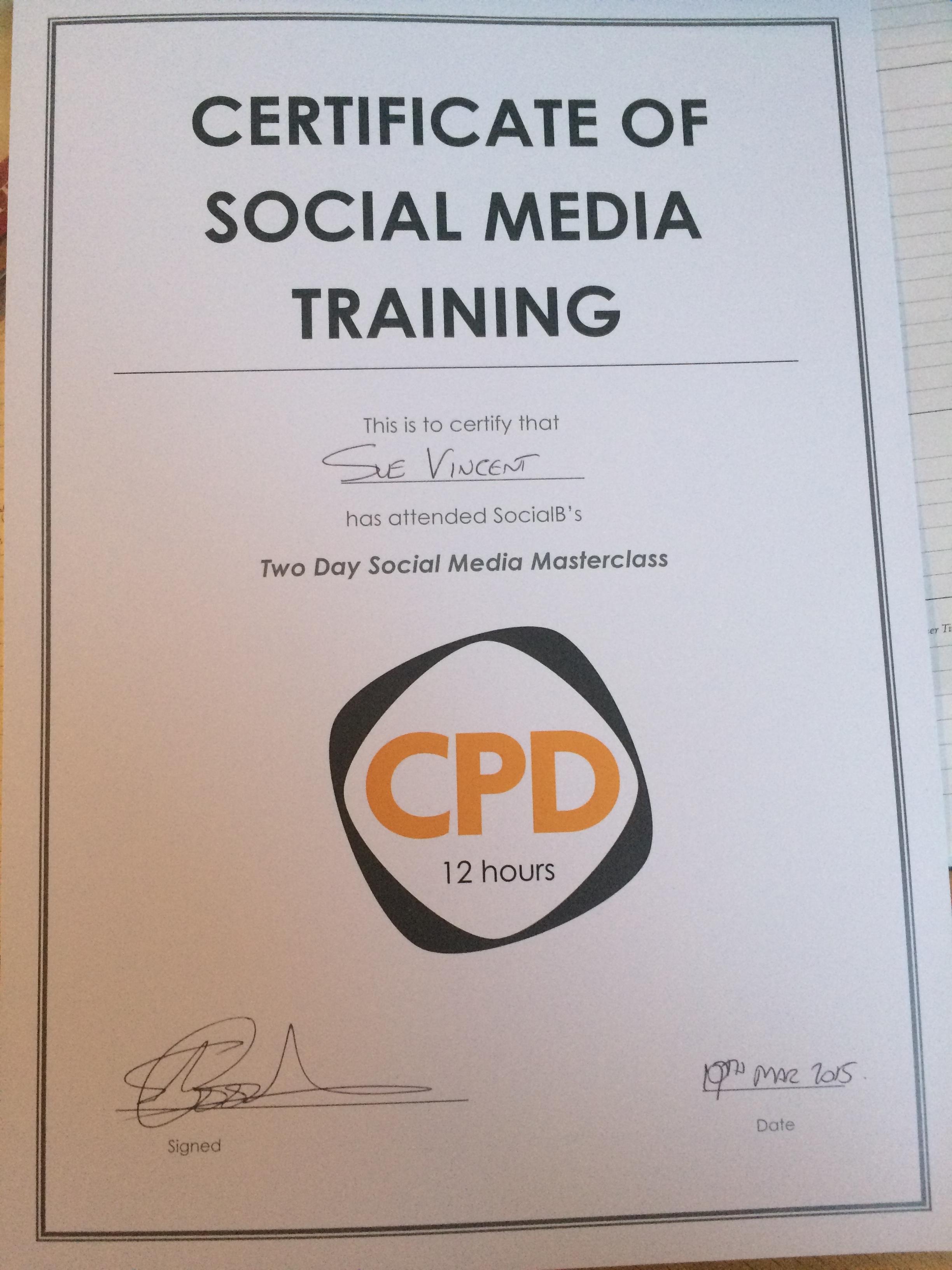 social media cpd